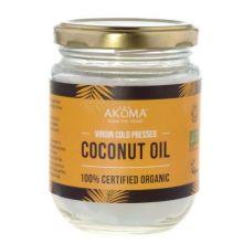 Ulei organic de cocos, presat la rece, grad alimentar, 100 ml