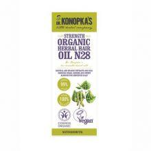Ulei organic No.28, tratament pentru intarirea firului de par, 30 ml