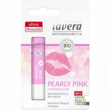 Balsam de buze nuantat, cu ulei de migdale, Pearly Pink