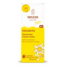 Crema de soare cu floare de colt pentru fata SPF 30, Sun Edelweiss - 50 ml