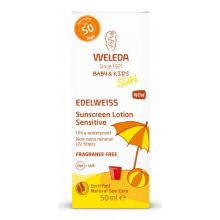 Crema de soare cu floare de colt SPF 50, Sun Edelweiss Baby&Kids - 50 ml