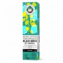 Pasta de dinti pentru albire Black Birch of Siberia, 85 g
