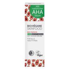 Serum de noapte cu papaya si 2% acizi AHA (toate tipurile de ten) - 30 ml