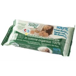Servetele umede BIO din bumbac organic, extract de musetel
