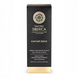 Crema de noapte concentrata antiage Youth Injection cu aur si caviar, Caviar Gold, 30 ml