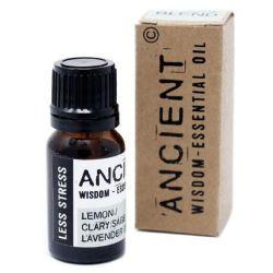 Amestec de uleiuri esentiale Less Stress (salvie, lamaie, lavanda), 10 ml