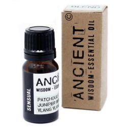 Amestec de uleiuri esentiale Sensual (patchouli, ienupar, ylang ylang), 10 ml