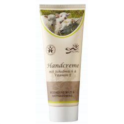 Crema de maini - cu lapte de oaie si vitamina E - 75 ml