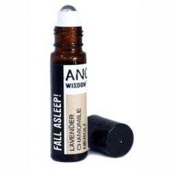 Roll-on uleiuri esentiale Fall Asleep! (lavanda, musetel, neroli), 10 ml