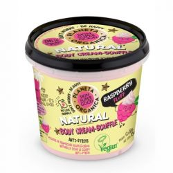 Crema-sufleu de corp Skin Supergood cu zmeura Raspberry Fluff, 360 ml