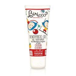Pasta de dinti gel bio Cirese, fara fluor, homeopata, pentru copii - 75 ml