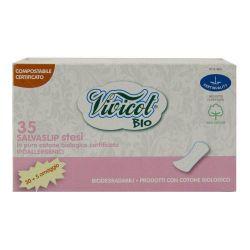 Protej-slip ultrasubtire din bumbac organic, 35 bucati