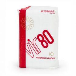 Absorbante pentru lehuzie cu bariera protectoare VIR80, 10 buc.