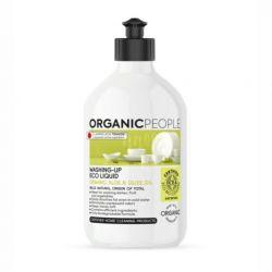 Detergent ecologic pentru vase Aloe Vera & ulei de masline, 500 ml