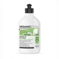 Detergent ecologic pentru vase Green Lime & Mint, 500 ml