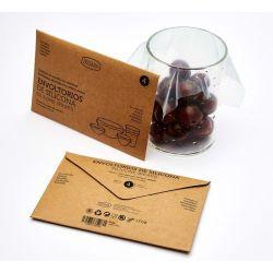 Folie alimentara reutilizabila din silicon, set 4 buc.