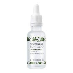 Ser facial cu ulei de canepa BIO (ten tern) - 30 ml